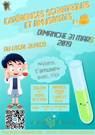 Des ateliers scientifiques pour enfants à Poitiers
