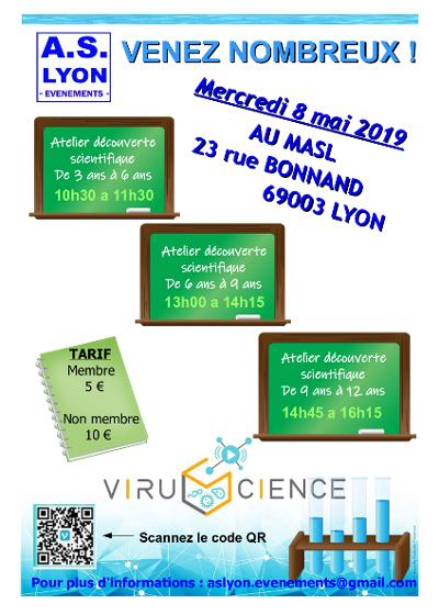 Des ateliers scientifiques pour enfants à Lyon