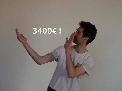 Objectif 3000€ atteint !